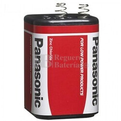 Pila Salina 4R25 Panasonic 6 Voltios