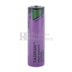 Pila Tadiran SL-560/S - AA 3,6 Voltios 1.7 Amperios