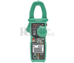 Pinza Amperimétrica Auto-Rango 600A CA Proskit MT-3110