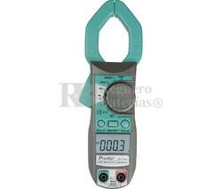 Pinza Amperimétrica Multifunción,400A CA/CC Proskit MT-3109