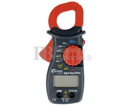 Pinza Amperimétrica Multifunción, 400A CA Nimo MUL021