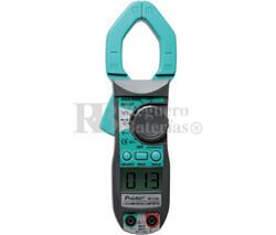 Pinza Amperimétrica Multifunción,400A CA Proskit MT-3102