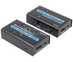 Prolongador activo de HDMI por 2 RJ45 hasta 30m