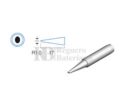 Punta biselada de 1.0mm soldador HRV6154/6135/6654/7654/7632