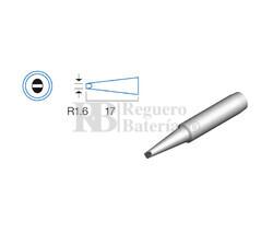 Punta plana de 1.6mm, soldador HRV6154/6135/6654/7654/7632