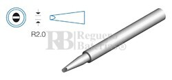 Punta plana para soldador HRV8380