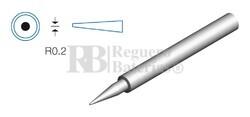 Punta redonda de 0.2mm para soldador HRV8380