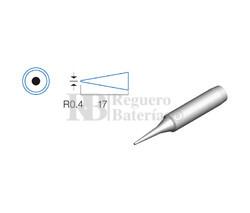Punta redonda de 0.4mm, soldador HRV6154/6135/6654/7654/7632