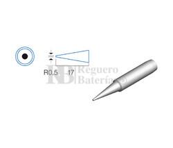 Punta redonda de 0.5mm, soldador HRV6154/6135/6654/7654/7632