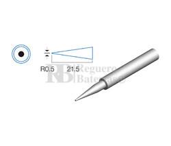 Punta redonda de 0,5mm, soldador HRV7566