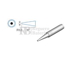 Punta redonda de 1.0mm, soldador HRV6154/6135/6654/7654/7632