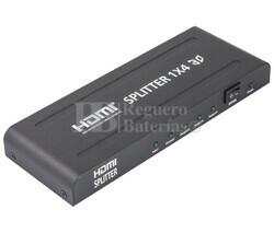 Repartidor de señal por HDMI 1 entrada 4 salidas