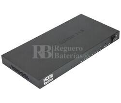 Repartidor de señal por HDMI 1 entrada 8 salidas