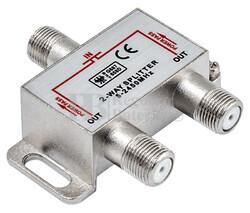 Spliter TV 1 entrada 2 salidas 5-2450MHz