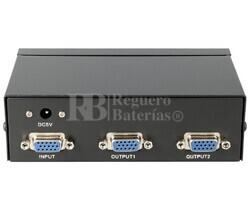 Splitter activo de VGA 1 entrada 2 salidas