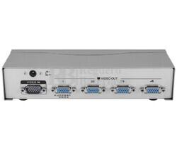 Splitter activo de VGA 1 entrada 4 salidas