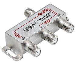 Splitter TV 1 entrada 3 salidas 5-2450MHz