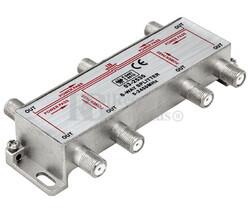 Splitter TV 1 entrada 6 salidas 5-2450MHz