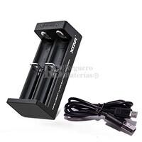 Xtar MC2 cargador baterías Litio Dual 14500,18650,20700...